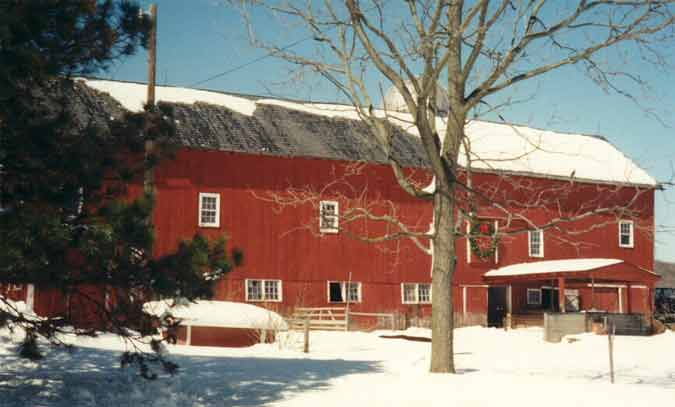 barn winter