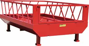 Stand Bale Feeder