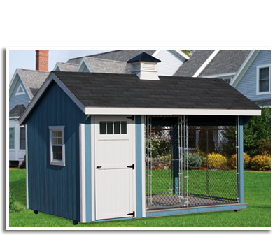 Dog Kennels • Chicken Coups • Options & Features